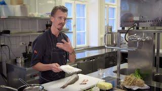 Friterade fiskfjäll enligt zero waste - Sveriges mästerkock (TV4)