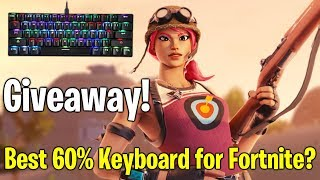 GIVEAWAY UPDATE! Playing Fortnite with The Motospeed CK62