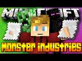 Minecraft MONSTER INDUSTRY WARS! 3v3 (Minecraft Real Time Strategy Game) - w/Lachlan & Friends