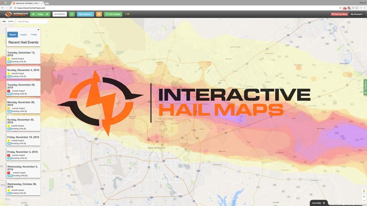 Interactive Hail Maps Interactive Hail Maps   The Ultimate Hail Damage Prospecting Tool