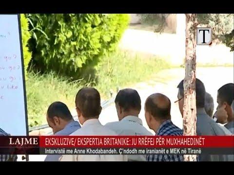 Anne Khodabandeh (Singleton) exposing Maryam Rajavi's MEK activities in Albania