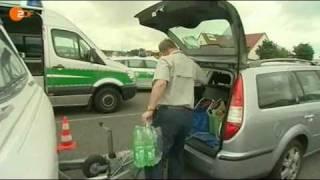 Polizei kontrolliert Wohnmobile: Hallo Deutschland, 25.08.2009