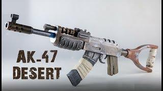 INCROYABLE ARME IMPRIMÉE EN 3D MODÈLE : AK-47 DÉSERT