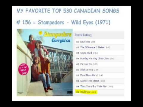 Top 530 Canadian Songs - 160 To 151