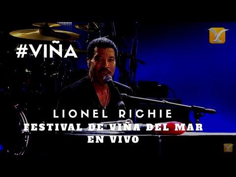 LIONEL RICHIE  - Hello -  Festival de Viña del Mar #VIÑA #CHILE