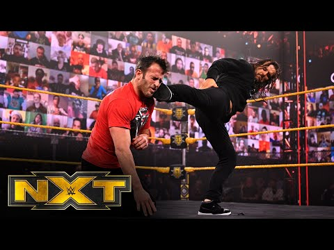 Adam Cole blasts Finn Bálor and double-crosses Roderick Strong: WWE NXT, Feb. 24, 2021