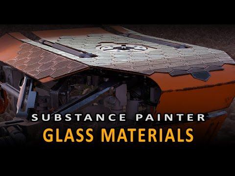 Substance Painter: Glass