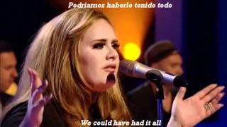 Adele - Rolling In The Deep (Subtitulada)