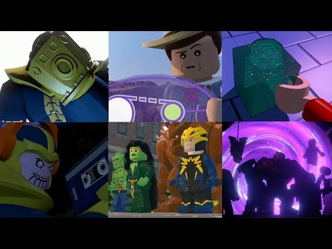 All Post Credits Scenes in Lego Videogames!