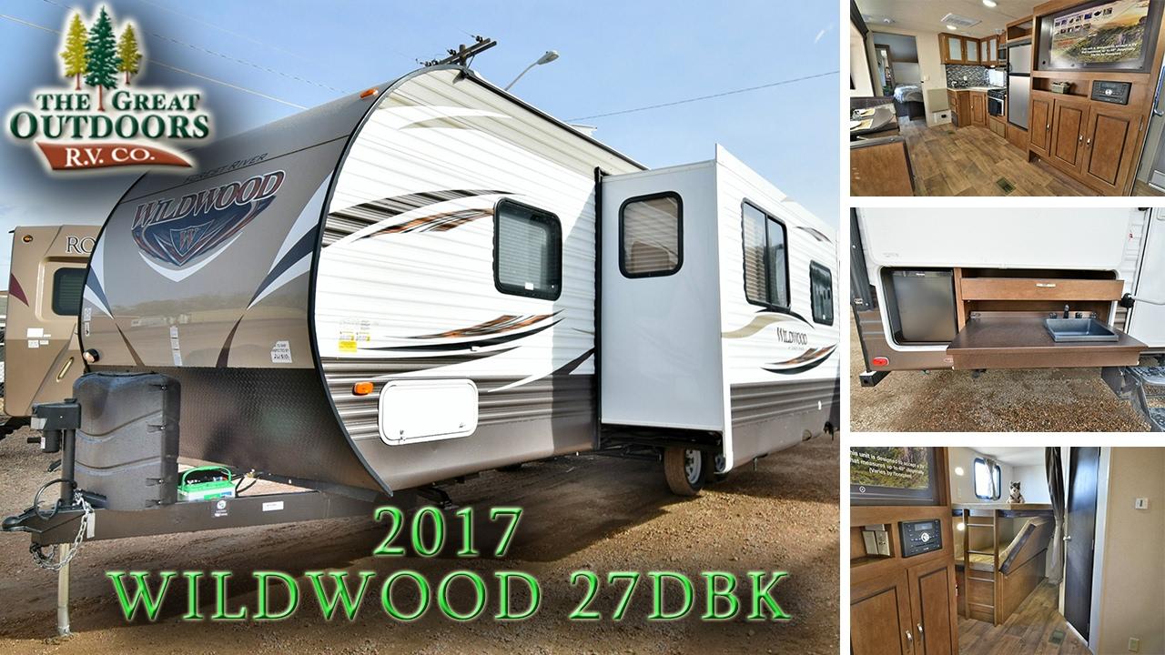 2017 FOREST RIVER WILDWOOD 27DBK WW193 Colorado RV Dealer