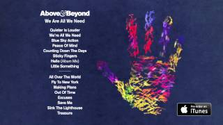 "Above & Beyond ""we Are All We Need"" Album Sampler"