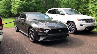 2018 Ford Mustang Ecoboost Convertible Overview