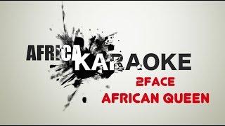 2face african queen karaoke version instrumental lyrics