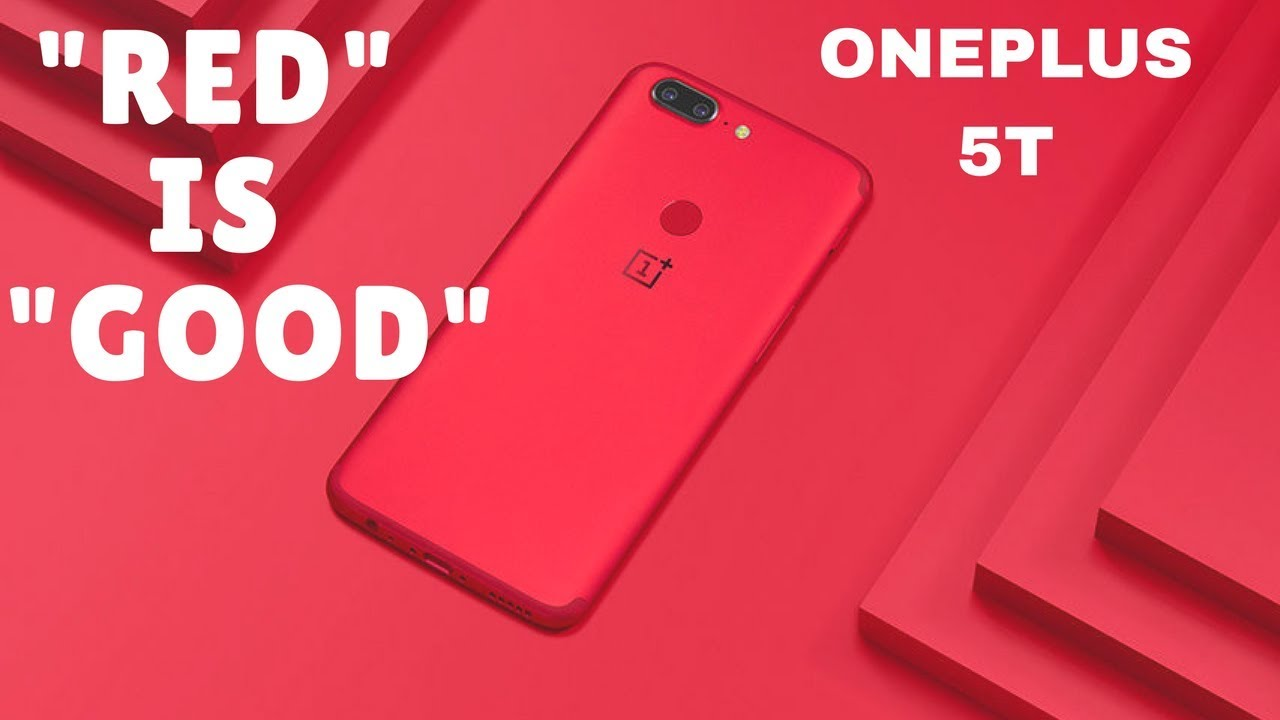 Image result for one plus 5T LAVA RED