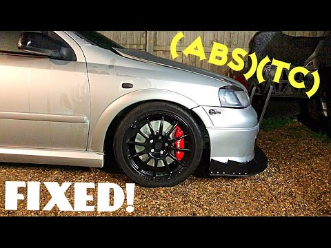 [Wheel Bearing Replacement & ABS/TC Fault Light ON] Opel Astra Opc Mk4/5 Vxr
