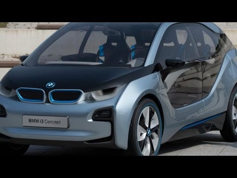 Bmw Unveils I3 Electric Car Hpl Youtube