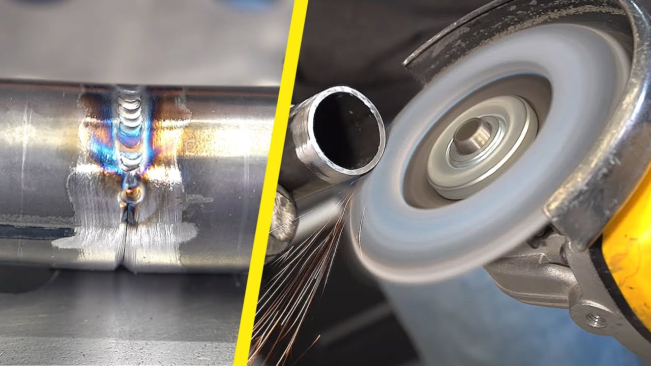 Stahlrohr schweißen - typische Anfänger Fehler vermeiden! | Tutorial für WIG Bginner | Igor Welder