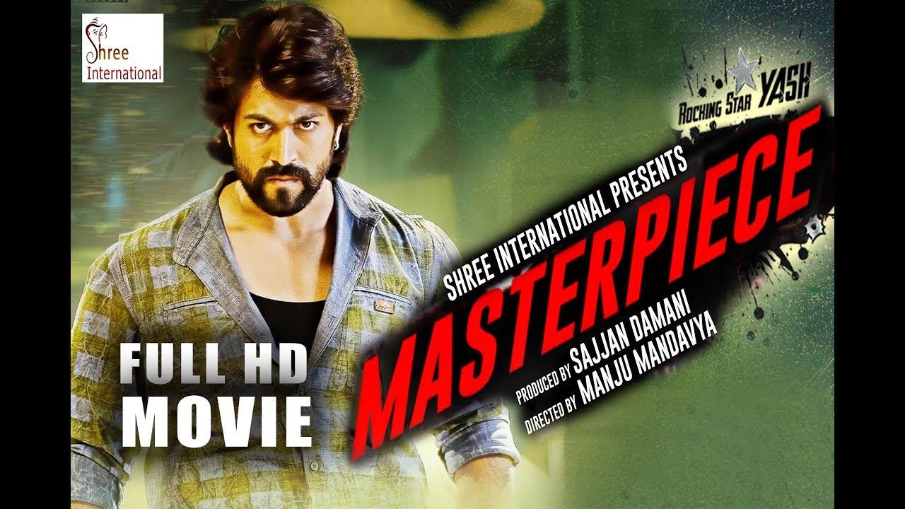 Download Masterpiece (2019) Hindi Dubbed Full Movie | KGF Yash, Shanvi Srivastava