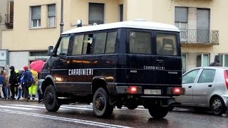 Carabinieri 4° Battaglione Veneto in emergenza -  alluvione Vicenza 2013