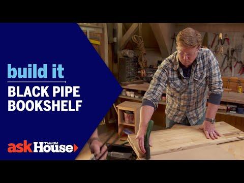 Build It | Black Pipe Bookshelf