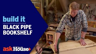 Build It | Black Pipe Bookshelf