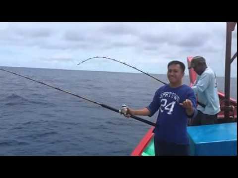 คลิปตกปลาทะเล