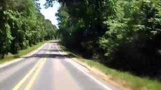 my ride saturday on a Honda Metric bike