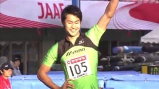 第99回日本陸上競技選手権大会 男子 200m 決勝