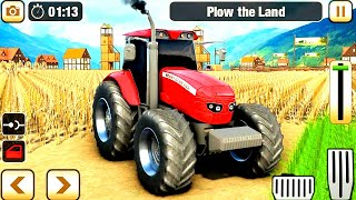 tractor game Real Farming Tractor Simulator 2019 - Tractor Driving #4 - Android GamePlay