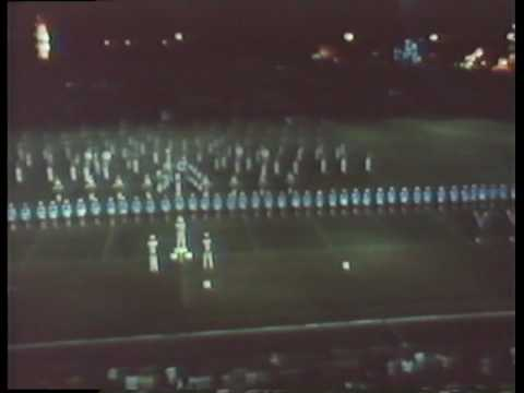 1980 Coral Springs High school Marching Band District Contest