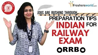 Tips and Tricks for Preparing Railways Recruitment Board Exam-How to Crack RRB Exam 2017 Video