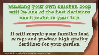Building Chicken Coops Lesson - Learn Where To Get Cheap Chicken Coop Plans