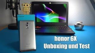 honor 6X - Unboxing und Test (Deutsch)