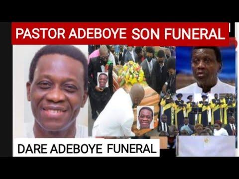 Pastor Adeboye Son Funeral,Pastor Dare Adeboye Funeral, Hidden Truth Cause of D€ath