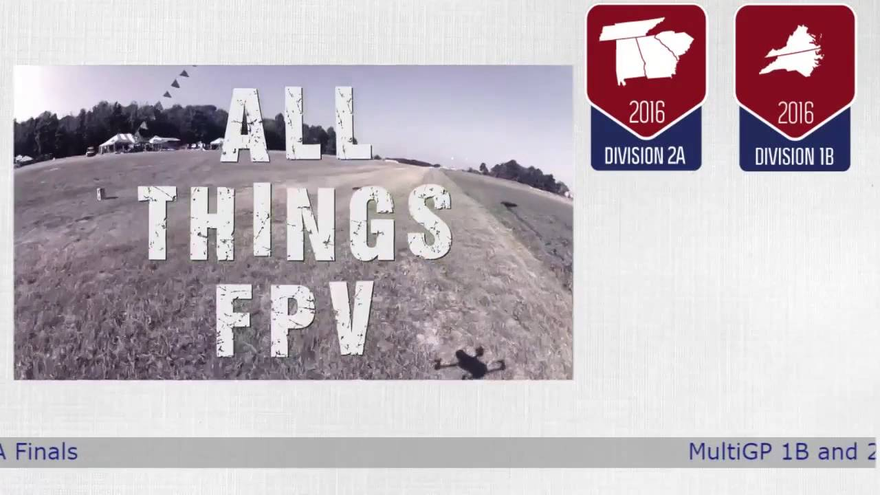 FPV Drone Racing MultiGP 1B and 2A Finals From The Pecan Patch Airstrip