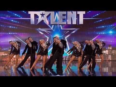 Britain's Got Talent 2016 S10E04 Ystrad Fawr Dancers Hip Hop Classical Dancers Full Audition