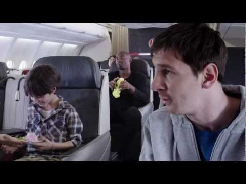 Kobe vs Messi Legends on Board   Turkish Airlines