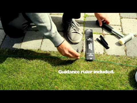 how to install a husqvarna automower robot lawn mower youtube. Black Bedroom Furniture Sets. Home Design Ideas