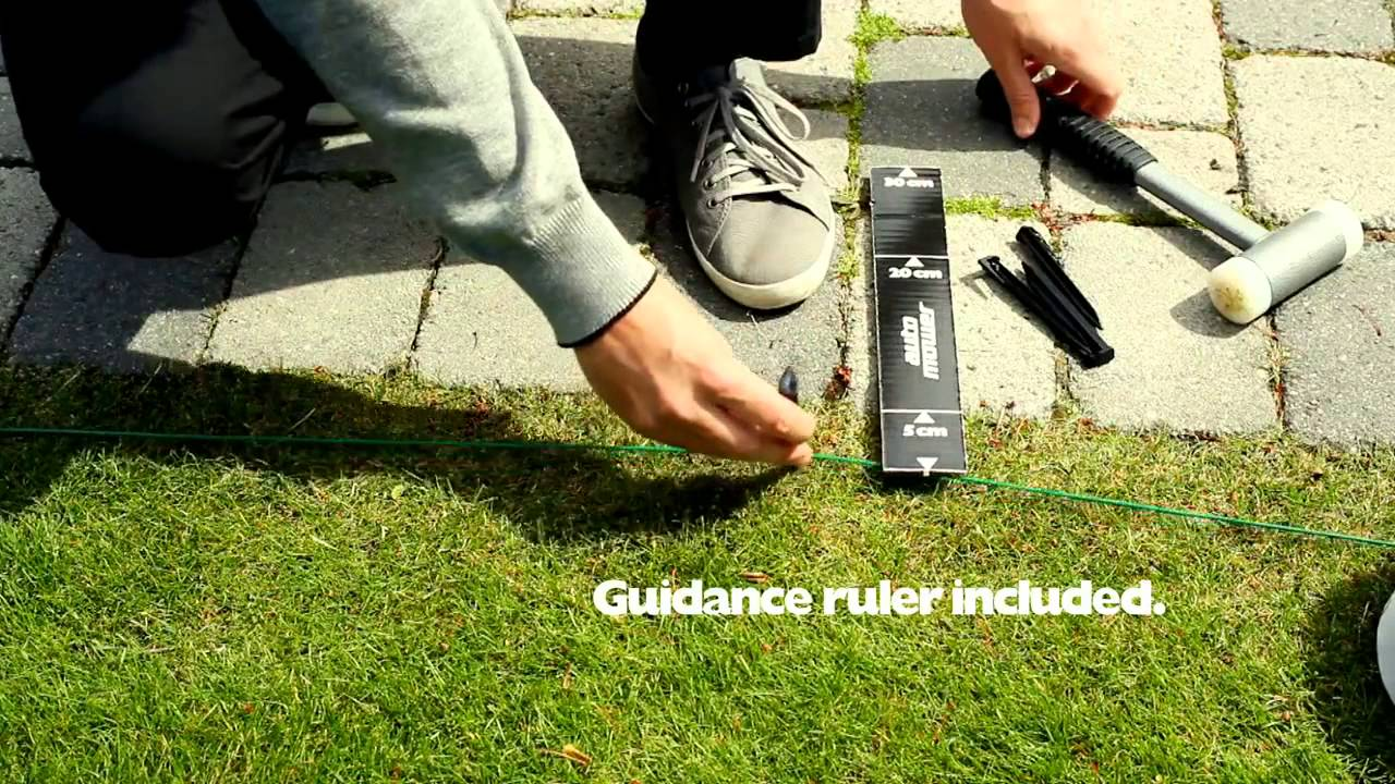 How to install a Husqvarna Automower robot lawn mower