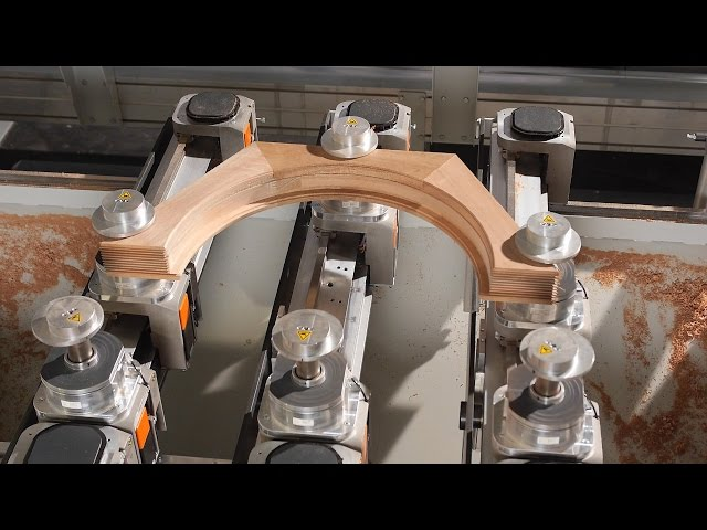 HOLZ-HER MULTIREX- Leading 5-Axis Technology for Solid Wood Machining