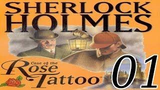 Sherlock Holmes: The Case of the Rose Tattoo - [01/29] - English Walkthrough
