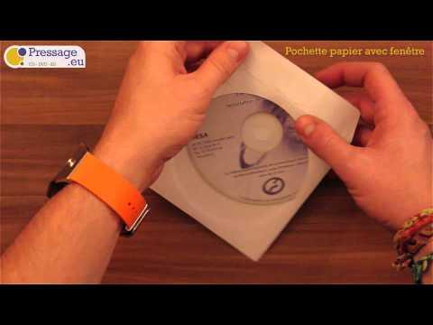 PRESSAGE.EU - Conditionnement : Pochette papier avec fenêtre
