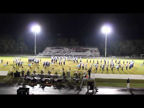 Gaither High School Marching Cowboys 2013 show- Home of the Brave