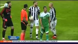 Beşiktaş: 3 - Sivas Belediyespor: 4 ( Türkiye kupasi özet )
