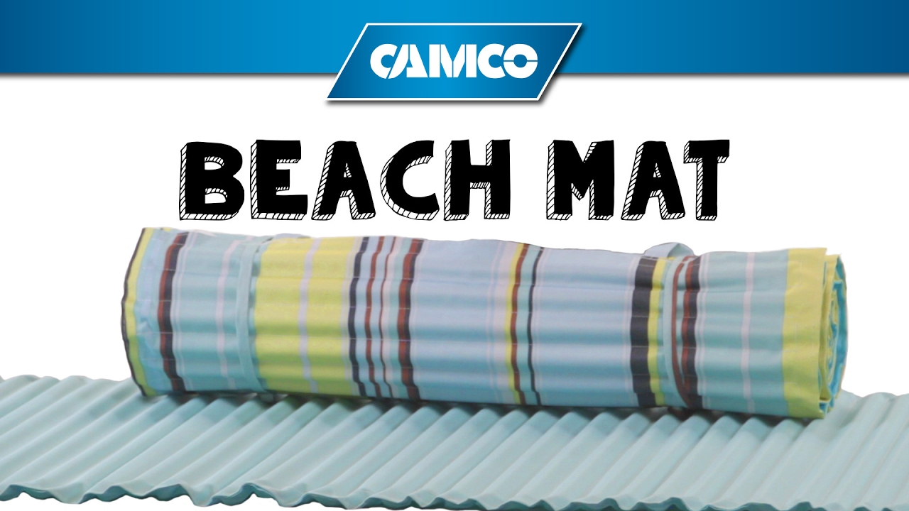 Camco S Beach Mat Youtube