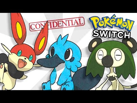 RUMOUR: Are these the Starter Pokémon for Pokémon Switch?