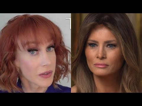 HEADS JUST ROLLED: WITH TWO BRUTAL WORDS MELANIA TRUMP JUST TOOK DOWN KATHY GRIFFIN