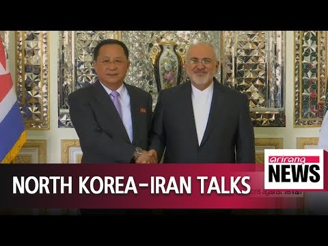 Foreign ministers of North Korea, Iran meet as U.S. re-imposes sanctions against Tehran
