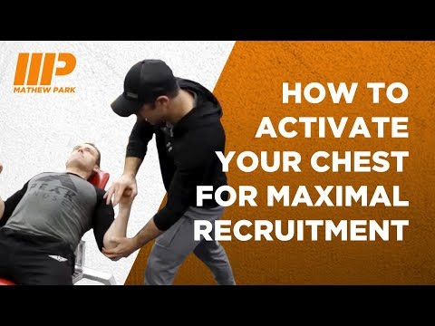 How to Activate Your Chest For Maximal Recruitment with Andy O'Brien