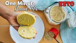 One Minute Keto Microwave Bread